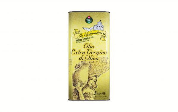 olio extra vergine La Colombara Viola 5 L