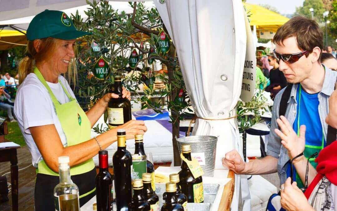 Olio Viola alla Festa dell'uva e del vino di Bardolino
