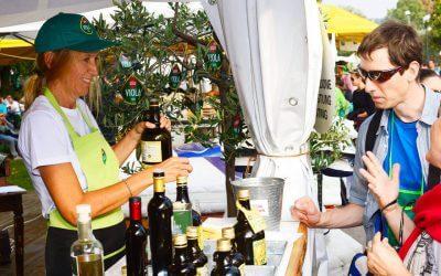 OLIO VIOLA AT THE BARDOLINO GRAPE AND WINE FESTIVAL