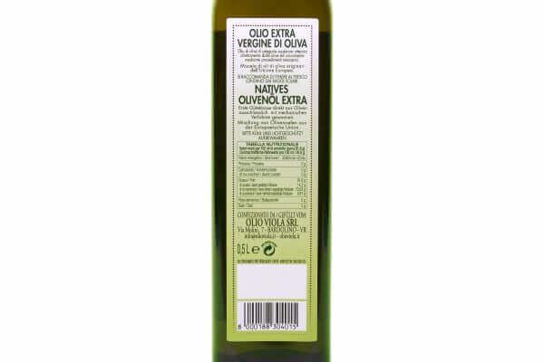 retro olio extra vergine di oliva Bardo 0,50 Viola
