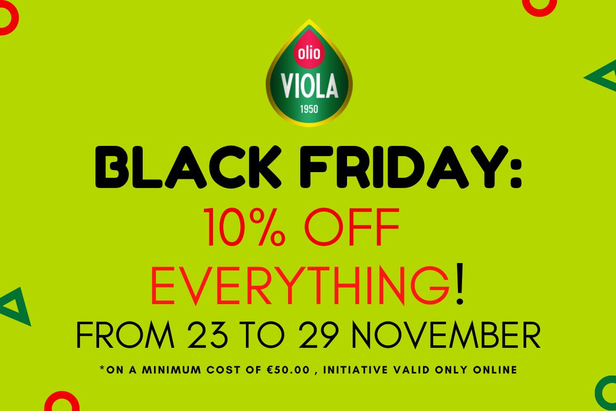 Black Friday Olio Viola ENG