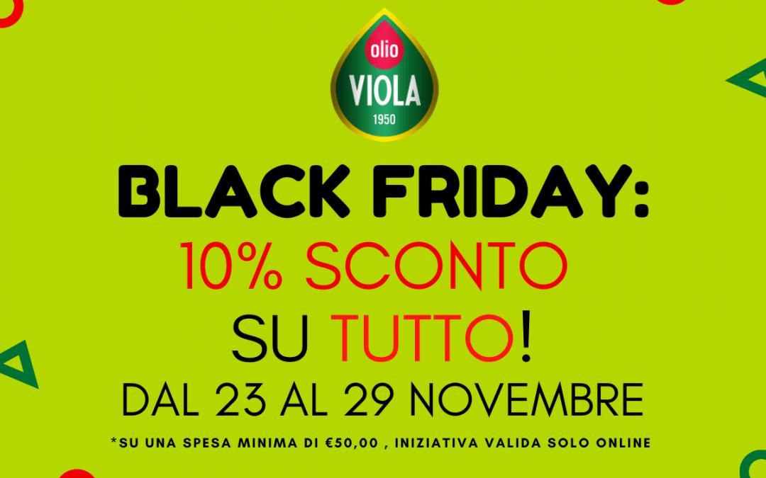 Black Friday Olio Viola